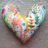 Breast Cancer pillow.  Cancer gift.  Mastectomy pillow.  Made from Liberty Lawn.