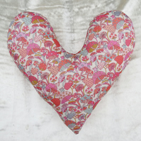 Mastectomy pillow.  Heart pillow.  Breast Cancer pillow.