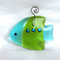 Sweet Little Fused Glass Fish
