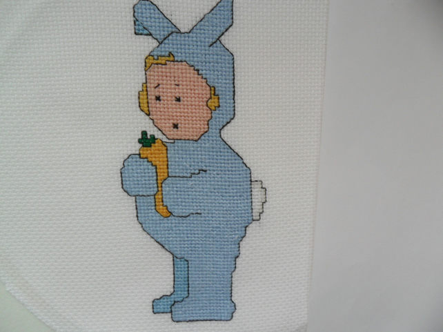 Fancy Dress Bunny Cross Stitch Kit