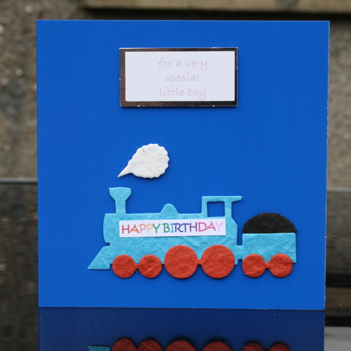 Train birthday card *SALE*