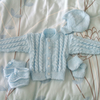Boy's Cardigan Set