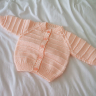 SALE - Peach Cardigan