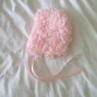 Pink Loopy Hat