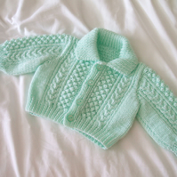 SALE - Mint Green Cardigan