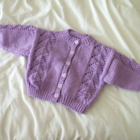 SALE - Purple Cardigan.