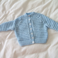 SALE - Blue Cardigan