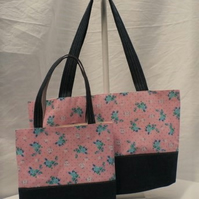 MUMMY AND LITTLE ME MATCHING TOTE BAGS