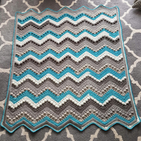 Cake Pop Crochet Baby Blanket