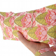 Nappy & Wipes Wristlet, Clutch - Pink Lotus Flower