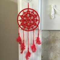 Crochet Christmas Dreamcatcher