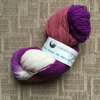 Cornish Artisan Hand Dyed Merino 4ply Yarn