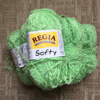 Regia Softy Sock Yarn Pack of 6 in Green