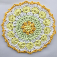 Crochet Mandala Table Mat