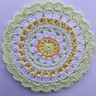 Crochet Table Mat Mandala