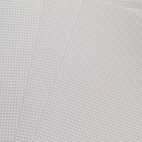 Pack of 10 sheets of Small Gingham A4 Card in Pale Pink