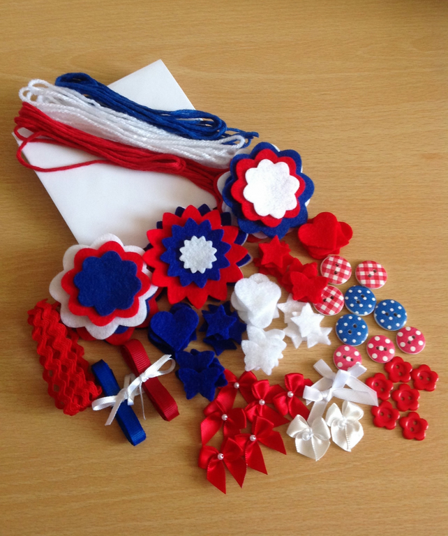 Red, White & Blue Felt Craft Kit