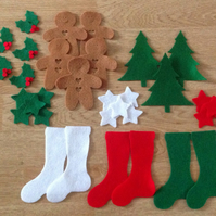 Christmas Felt Die-cuts Craft