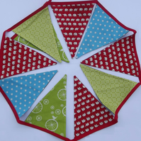 Bright Bunting for boys