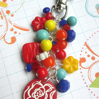 Fun and Frivolous Bag Charm