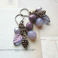 Lilac Cluster Earrings