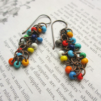 Cascade Earrings Multicoloured