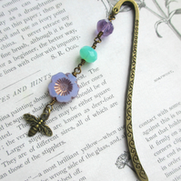 Bookmark - Lilac Flower