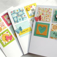 Thank You Cards Set of Three