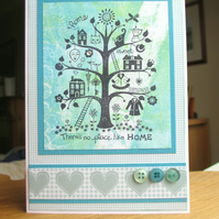 New Home Card - No Place Like Home