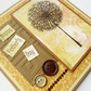 Father's Day Card Dandelion - Brown,Mustard