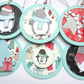 Christmas Gift Tags set of 6 Penguins