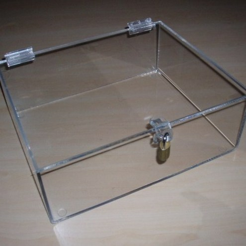 how to make a display case with plexiglass