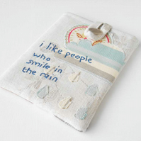 Kobo Mini Pocket eReader Case, I Like People Who Smile in the Rain Collage Case