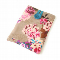 Kindle Paperwhite Case, Nook Simple Touch Case, Kindle Case in Country Chic
