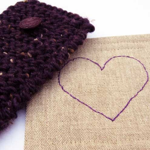 Cosy and Coaster Gift Set - Purple