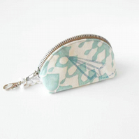 Paper Airplane Clamshell Coin Purse