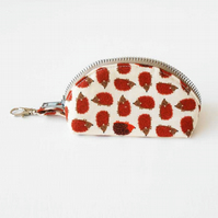 Hedgehogs Clamshell Coin Purse