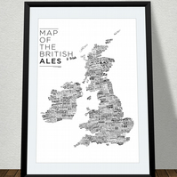 'Map of the British Ales'