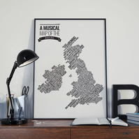 Musical Map of the British Isles