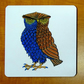 Owl coaster bird coaster