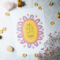 oh yes you can art print
