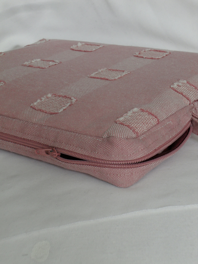 Pink Denim Netbook (mini laptop) Case