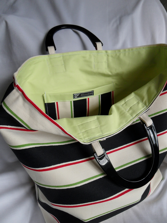 Stripy Bag