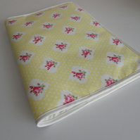 Handmade Fabric A4 Folder (Darla)