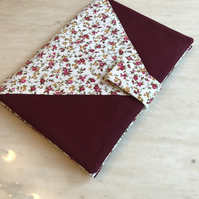 Handmade fabric kindle sleeve or A5 fabric folder