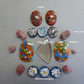 Assorted cabochons Agate,Ruby,Glass,Quartz