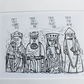 The Lewis Chessmen (Print)