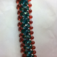 Rondelle Crystal Beaded Bracelet
