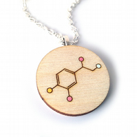 Chemical Formula for Love Valentine's Necklace