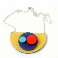 Orbis Abstract Necklace